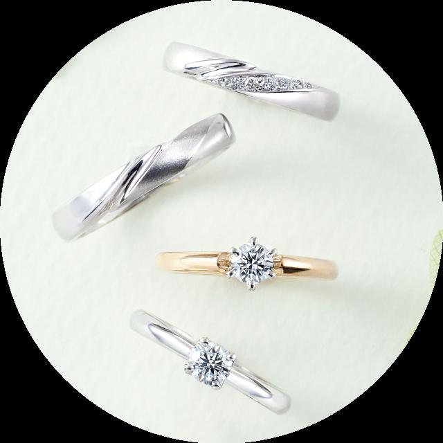 福岡 結婚指輪 婚約指輪