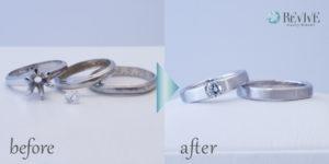 結婚指輪 婚約指輪 リフォーム