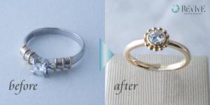 婚約指輪 エンゲージリング ジュエリーリフォーム