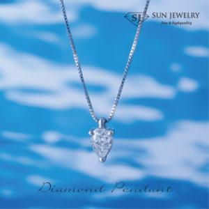 ダイヤモンドペンダント ネットショッピング