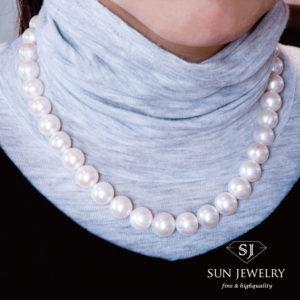 普段着にも真珠
